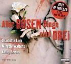 Aller bösen Dinge sind drei, 11 Audio-CDs von Kathy Reichs, Minette Walters und Charlotte Link (2009)