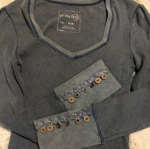 Free people sweetheart thermal! RARE VINTAGE FIND