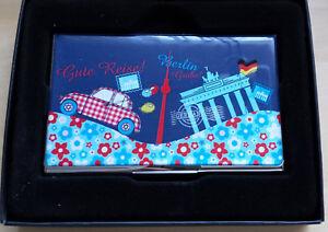 Cartes De Visite étui Berlin Soldes Neuf-afficher Le Titre D'origine Top PastèQues