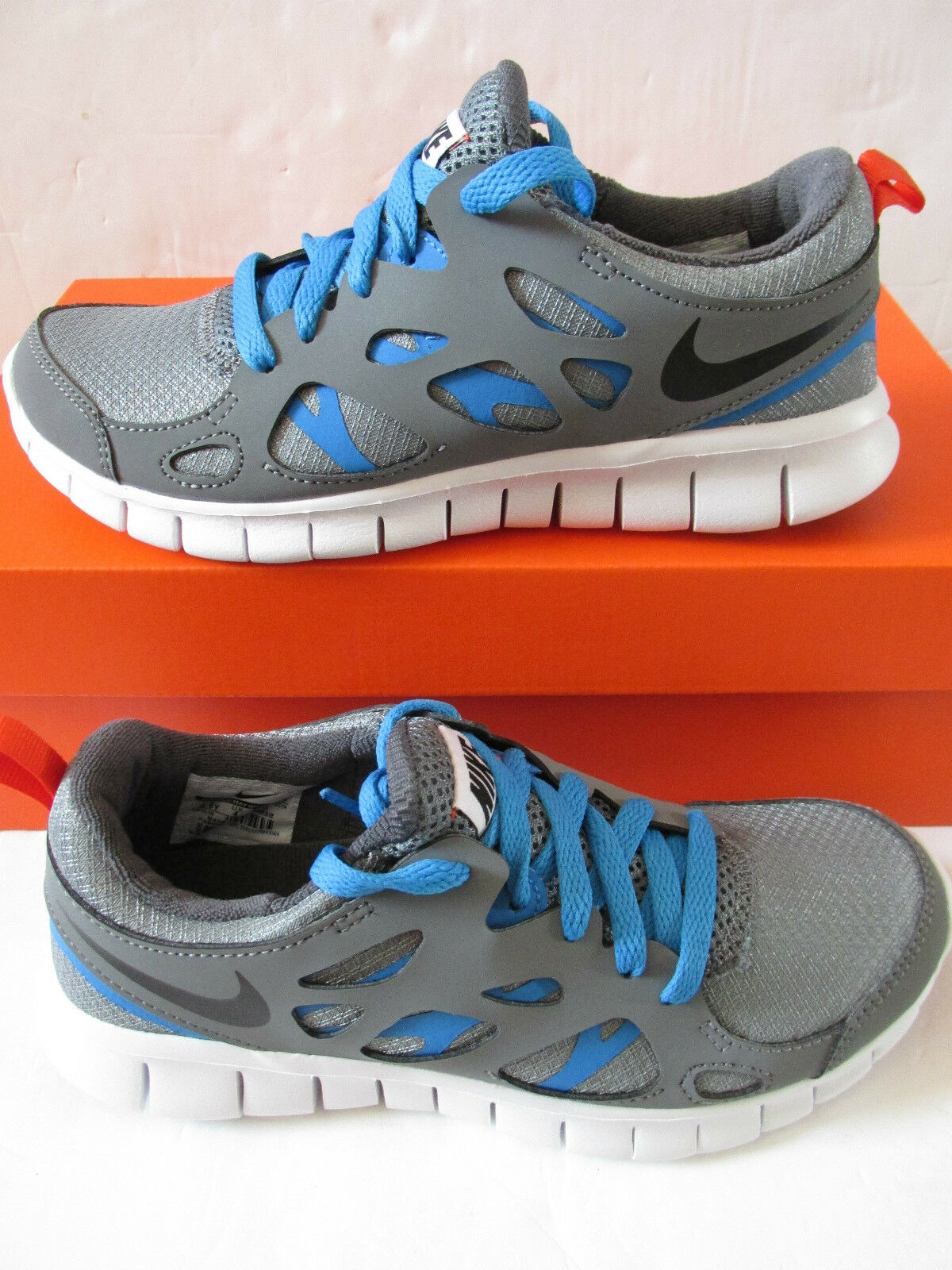 Nike Free Run 2 (GS) Youth Running Baskets 443742 094 Baskets Chaussures
