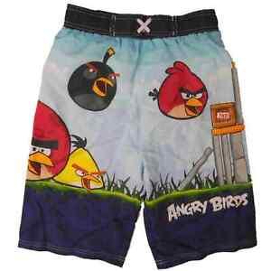 Birds dei ragazzi tronchi di di Shorts dei Angry Boys nuotata bordo del EIDY9eW2H