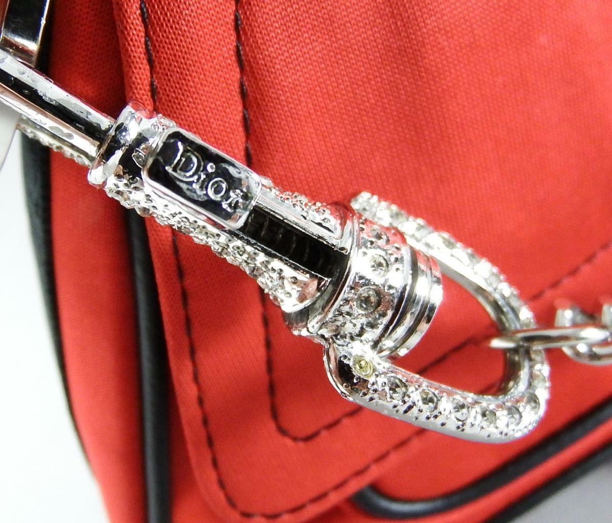 Christian Dior Red Jersey Hardcore Shoulder Bag w… - image 4