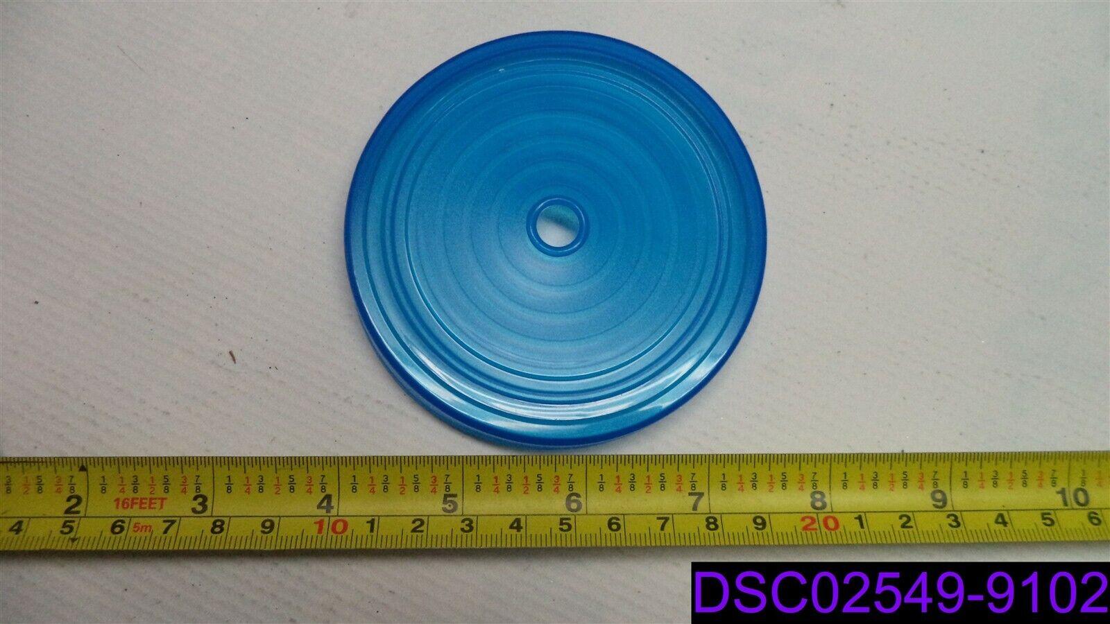Qty = 50  Tapas de Taza de plástico azul 3-5 8  ID