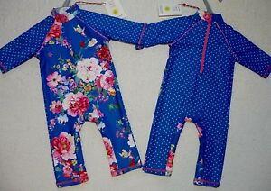 Mini-Club-Baby-Girls-UV-Sun-Protection-UPF40-Sunsafe-Rash-Vest-Swim-Sunsuit-0-3