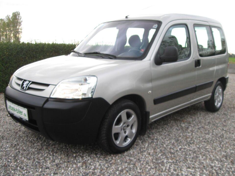 Peugeot Partner 1,4 XR Combi 5 Benzin modelår 2006 km 102000