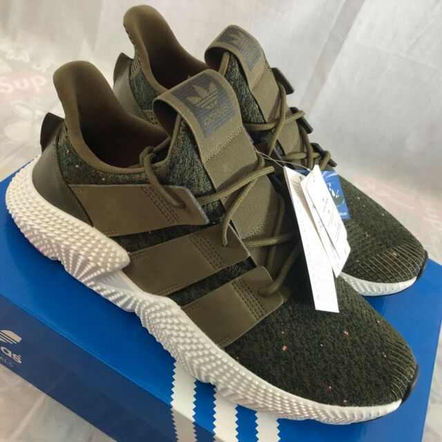 Adidas Originals Prophere Shoes Men's Size 12.5 Trace Olive Green Sneakers NIB