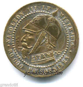 NAPOLEONE-III-SEDAN-1851-IL-MISERABILE-MEDAGLIA-SATIRICA