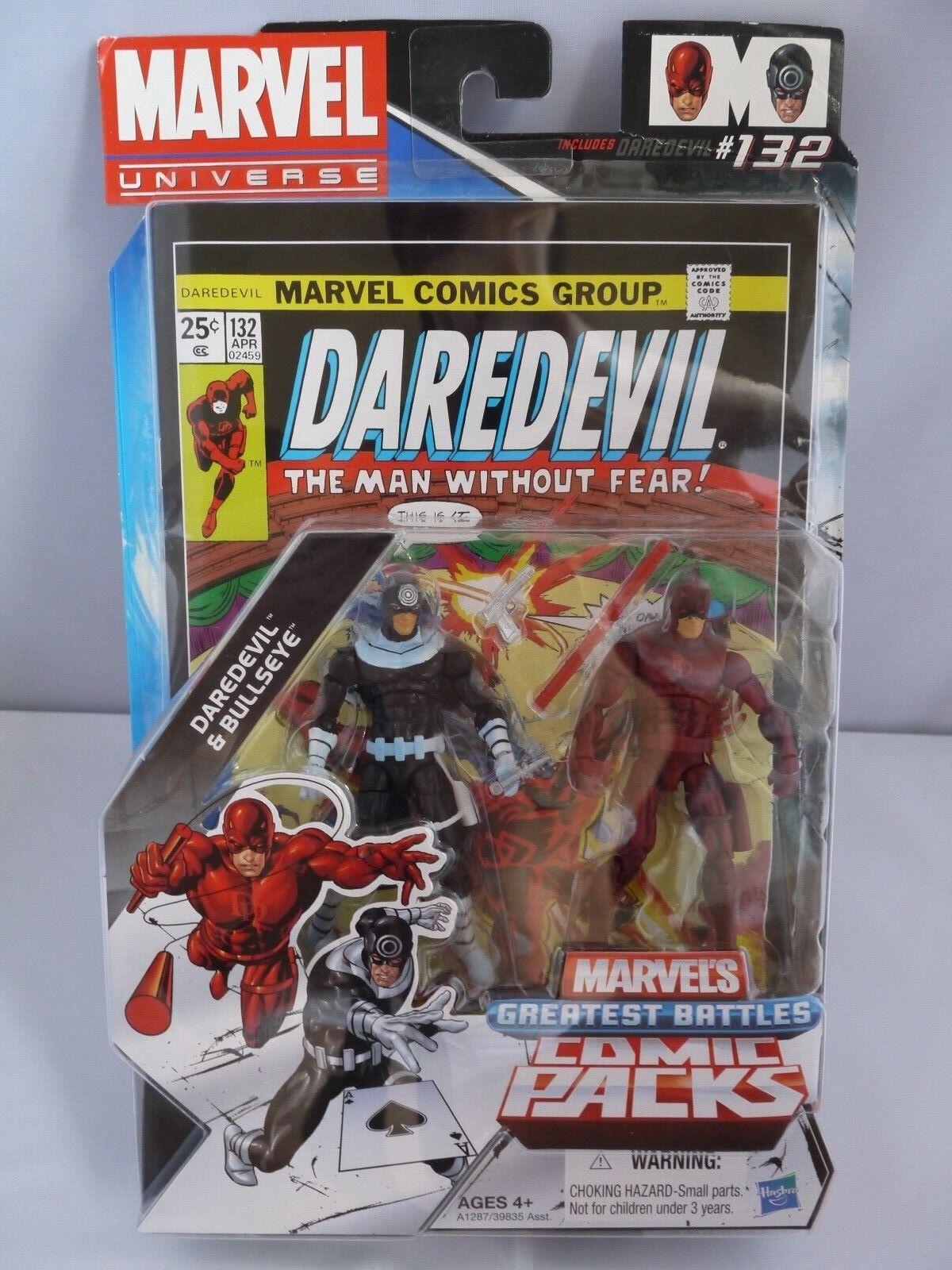 Hasbro Marvel universo più grei Battaglie Fumetto Pack Darossoevil & Bullseye