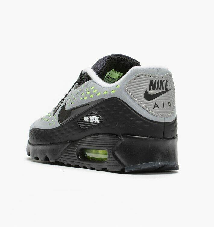 Nike Men's Air Max 90 Ultra BR Breathe Breathe Breathe Sz  6 NEW 725222-007 Wolf Grey Black Volt d22564