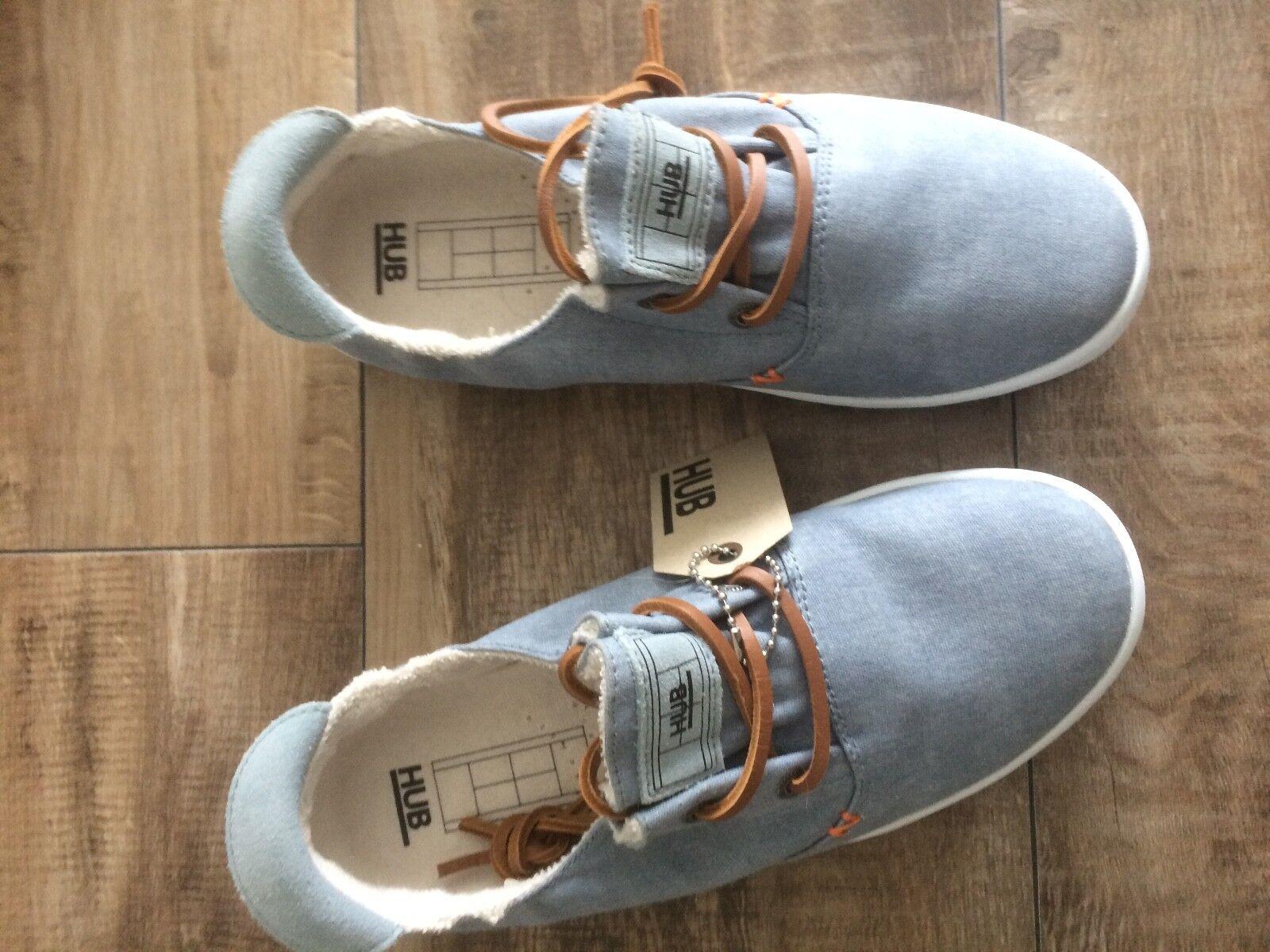 Hub Sneaker Hellblau NEU Größe 38 Turnschuhe