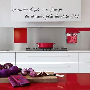 wall stickers adesivo frase cucina ristorante famiglia allestimenti ...