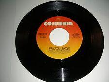 Crystal Gayle  Ain't No Sunshine 45 rpm Vinyl  Columbia Records NM+ 1981