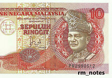 "MALAYSIA  RM10 Jaffar Hussein TDLR  First Prefix PR_2990512  ""GEF"""