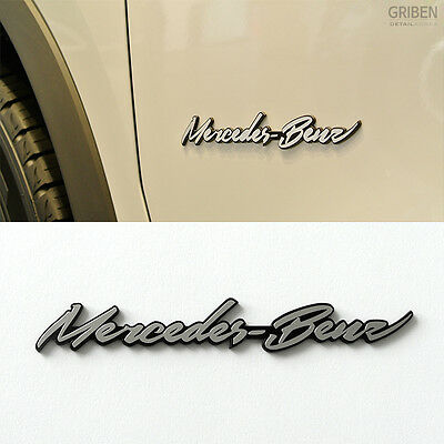 Detailkorea Griben Car Metal Chrome Emblem Sticker 70059 for Mercedes-Benz & AMG