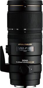 Sigma-70-200mm-f-2-8-EX-DG-OS-HSM-Canon-Fit-Nuovo-Regno-Unito-magazzino