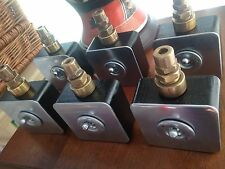4 X Vintage Industrial Hospital Crabtree Light Switches  Restored Perfect