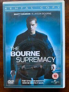 The-Bourne-Supremacy-DVD-2004-Superb-Robert-Ludlum-Thriller-Rental-Version