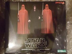 Kotobukiya Artfx L'empereur Star Wars Palpatine avec la garde royale