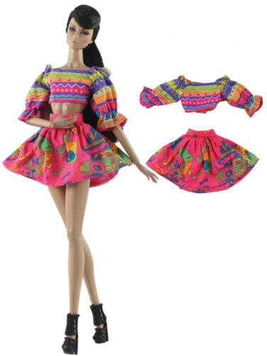 15 items= 5 Lovely Fashion Clothes//Outfit//Dress 10 shoes For 11.5in.Doll