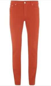 ACNE-flex-Jeans-Sz-27-Red-Bnwt-Rrp-350-Designer-Sale