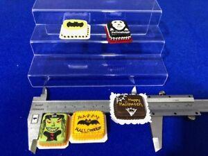 Handmade Miniature Dollhouse: Sheet Cakes (Clay) - 5 pcs (A)