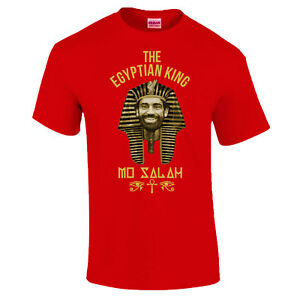 4e05dbbbf Details about Mo Salah 11 Egyptian King Egypt Pharaoh Gift Made In Liverpool  T-Shirt S - 5XL