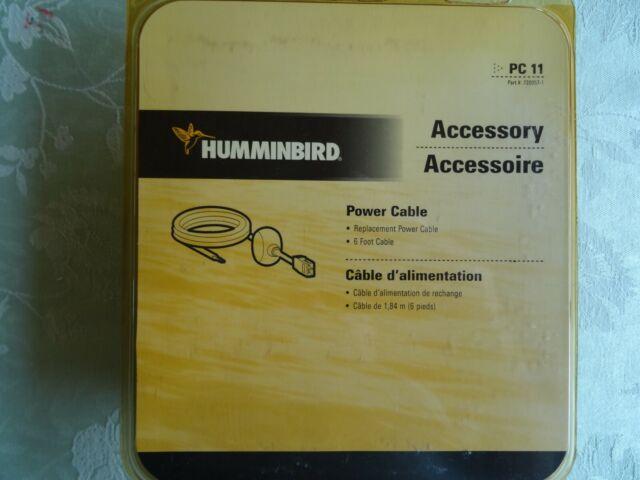 Humminbird PC11 Fitered Power Cord