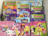 Easter Egg Decorating Color Dye Kit You Choose Disney Princess Hello Kitty