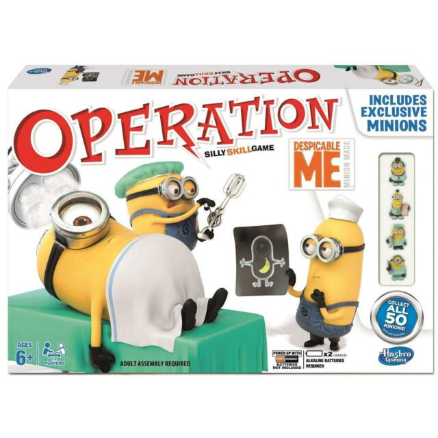 Despicable Me Operation Minions Silly Skill Children's Board Game New