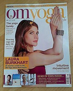 Om Yoga Magazine May 19 Meditation Health Body Lifestyle Spirit Mind Fitness Ebay