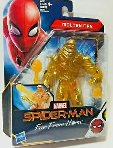 Far From Home Concept Series Molten Man 6-Inch Action Figure Spider-Man