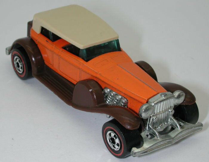 Redline Hotwheels orange Brown 31 Doozie  oc14063