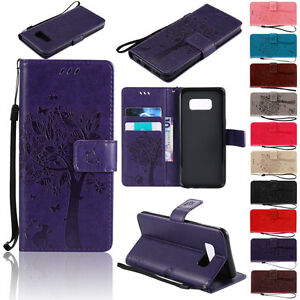 Flip-Leather-Wallet-Phone-Case-Cover-With-Strap-For-Samsung-Galaxy-S6-S7-Edge