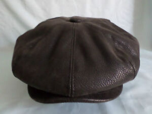 FAUX-LEATHER-1920-S-1930-S-VICTORIAN-EDWARDIAN-PEAKY-BLINDERS-CAP