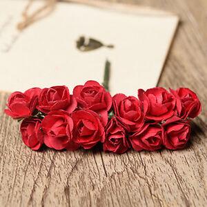 Paper flower rose making boatremyeaton paper flower rose making mightylinksfo