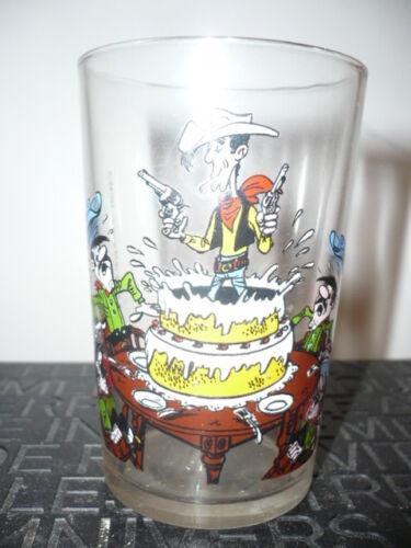 Vintage Glas By Morris Glas Senf Lucky Luke n° 4//1972