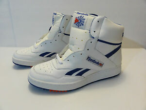 Reebok Men S Royal Bb White High Top Basketball Shoes Size