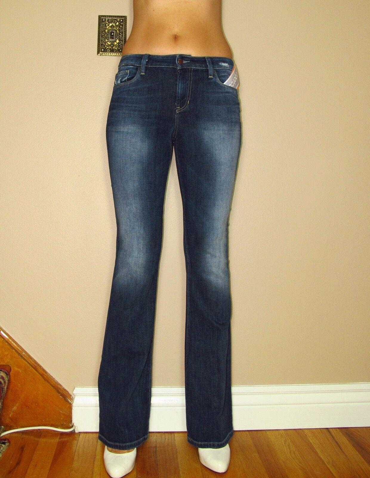 Joe's Jeans Visionaire Vita Alta Jeans Svasati Maggie Scuro Sdrucito 24