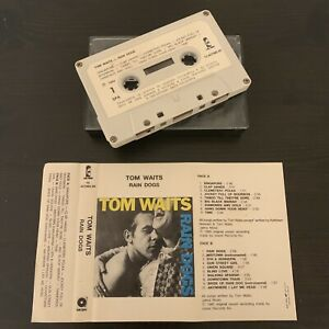 TOM-WAITS-RAIN-DOGS-RARE-PORTUGAL-ISSUE-CASSETTE-TAPE-ISLAND-10-407085-50