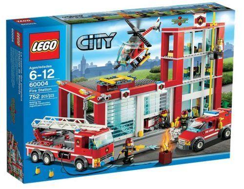 LEGO città  60004-VIGILI DEL FUOCO-Quartier generale NUOVO OVP  vendendo bene in tutto il mondo