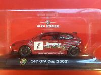 Alfa Romeo 147 Gta Cup Rally Car 2003 1/43rd Scale No1 Decal Alfa Issue
