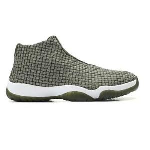 low priced 40a0d 931d3 Image is loading Mens-NIKE-AIR-JORDAN-FUTURE-Olive-Basketball-Trainers-