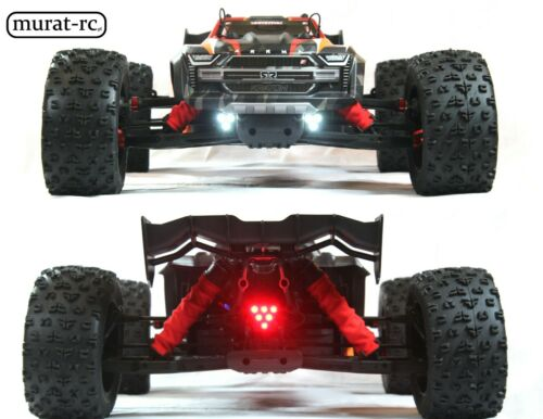LED Lights Front And Rear ARRMA KRATON 8s 1//5 by murat-rc