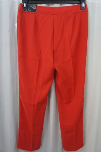 Red Pants Pantalon Carlo Nine De Sz 10 Monte Maigre Travail Poppy Suit Separates West Le Ztqw014