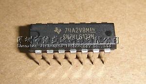 74hct132-IC bloque de creación dip14 quad 2-input NAND Schmitt Trigger