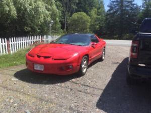 1999 Pontiac Firebird T roof