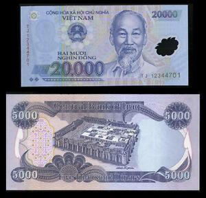 Image Is Loading 5000 Iraq Dinar A Free 20 000 Vietnam