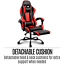 thumbnail 9 - Artiss Gaming Chair Office Computer Leather Chairs Executive Racer Gaming Chairs