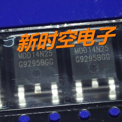 10pcs MDD14N25 MDD14N25CRH N-channel MOSFET 250V 10.2A TO-263