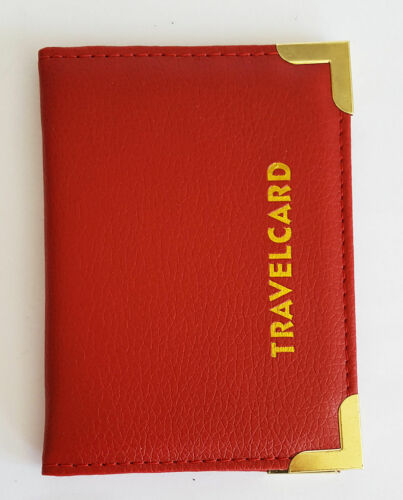 Various Colors Leather Wallet Travel Card Oyster Card Rail Card Ticket Holder UK
